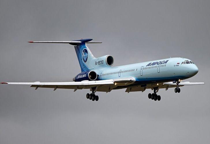 Ту-154 совершил последний в России гражданский полет