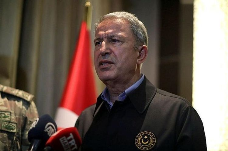 """Hulusi Akar: """"We stand by Azerbaijan with all our opportunities until the end"""""""