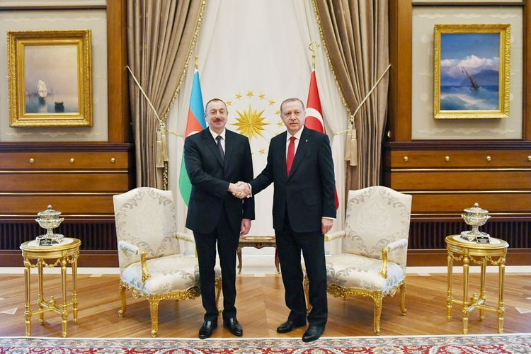 Президент Ильхам Алиев направил письмо Реджепу Тайипу Эрдогану