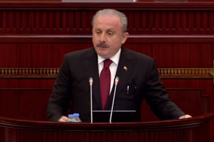 """TGNA chairman: """"Turkey will continue to stand by Azerbaijan"""""""