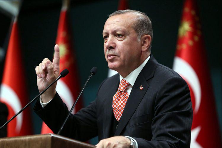 """Ərdoğan: """"Kəşfiyyat məlumatları əsasında 2000 PKK, YPG terrorçusunun 600 dollara Qarabağda döyüşdüyünü müəyyənləşdirmişik"""""""