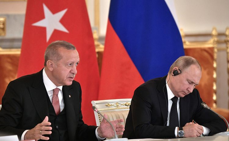 """Erdogan: """"Yesterday I told Putin we are obliged to resolve  Nagorno-Karabakh conflict together"""""""