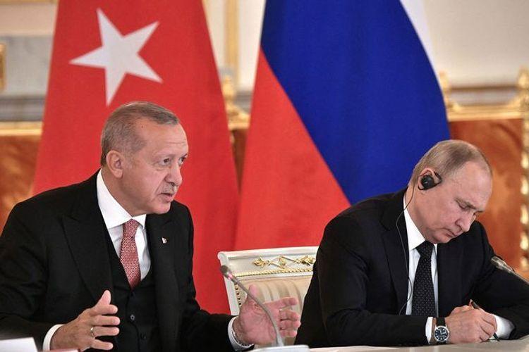 Эрдоган: Вчера я сказал Путину, что мы вынуждены вместе урегулировать карабахский конфликт