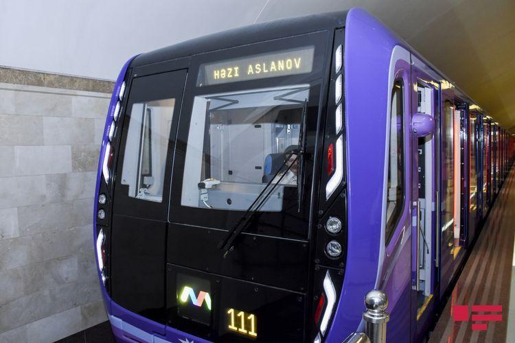 В Бакинском метрополитене пассажироперевозки прекращены до 1 декабря