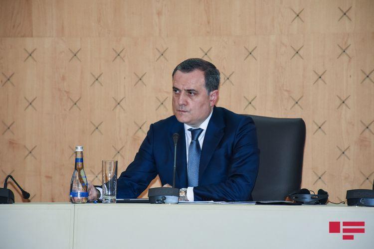 Джейхун Байрамов проинформировал сопредседателей об обстреле Арменией мирного населения Азербайджана
