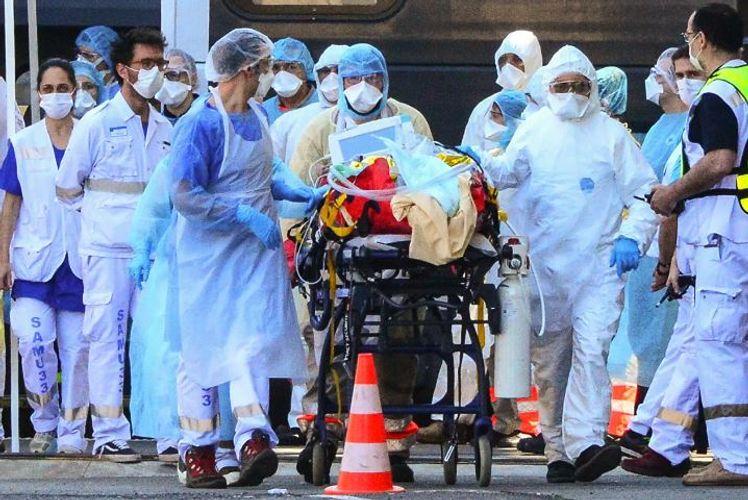 Fransada epidemiya ilə bağlı ümummilli karantin rejimi tətbiq edilib