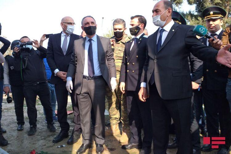 Глава ИВ: Трое раненых в результате ракетной атаки на Барду эвакуированы в Баку