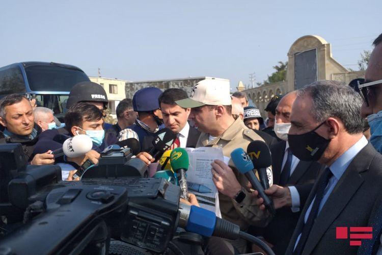 Директор ANAMA: Использование выпущенных по Барде ракет против мирного населения запрещено