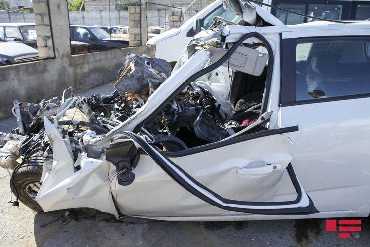 Balakəndə avtomobil hasara çırpılıb, ölən və yaralananlar var