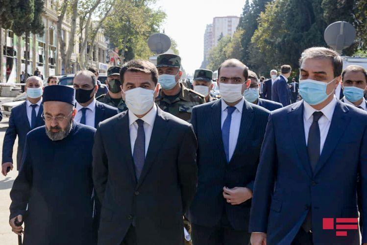 Хикмет Гаджиев: ВС Азербайджана на поле боя дают ответ большинству тех, кто совершил Ходжалинский геноцид