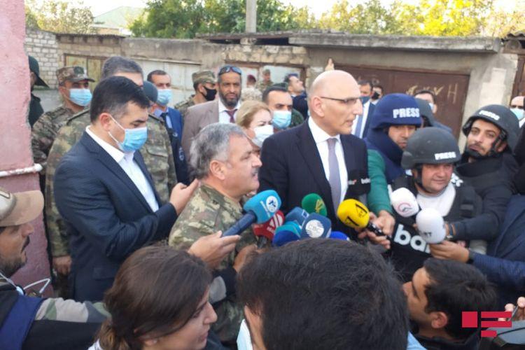 Diplomatik korpusun nümayəndələri Tərtərdə səfərdədir - YENİLƏNİB
