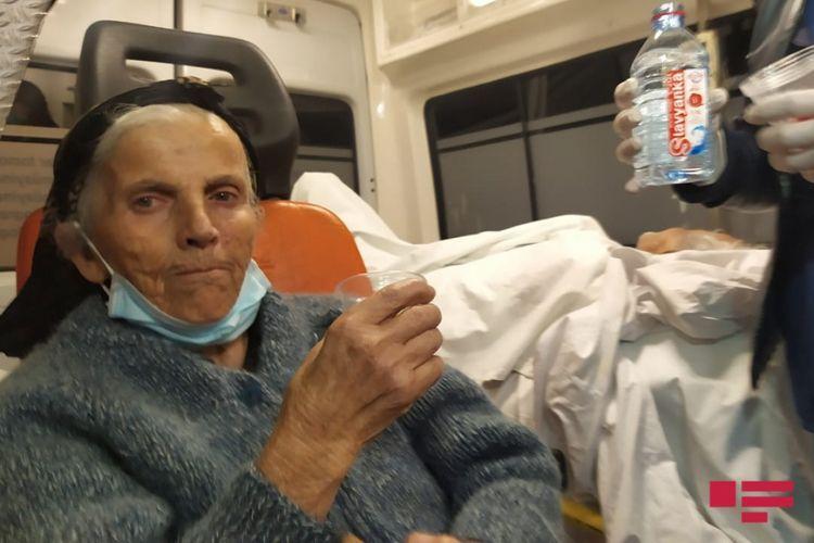 An elderly woman, a resident of Hadrut, was extradited from Azerbaijan to Armenia via Georgia yesterday