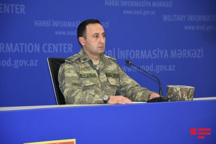 Azerbaijan's MoD: Enemy's attempt to attack in several directions was prevented