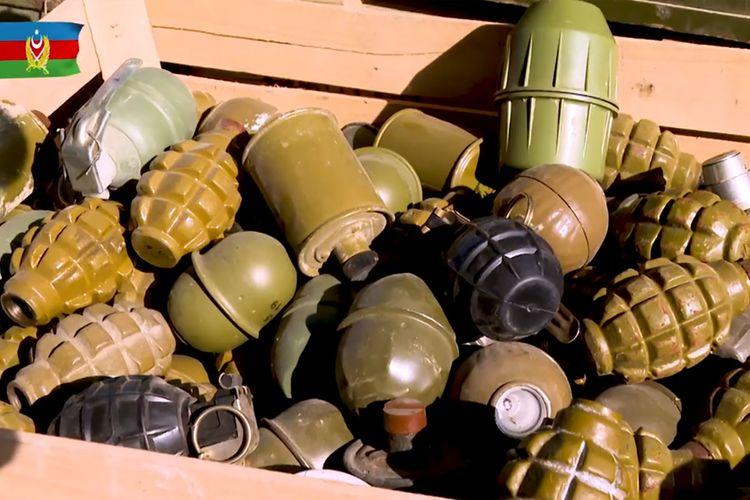 MN: Ordumuz qarşısında dayana bilməyən düşmən öz texnikalarını qoyub qaçır - VİDEO