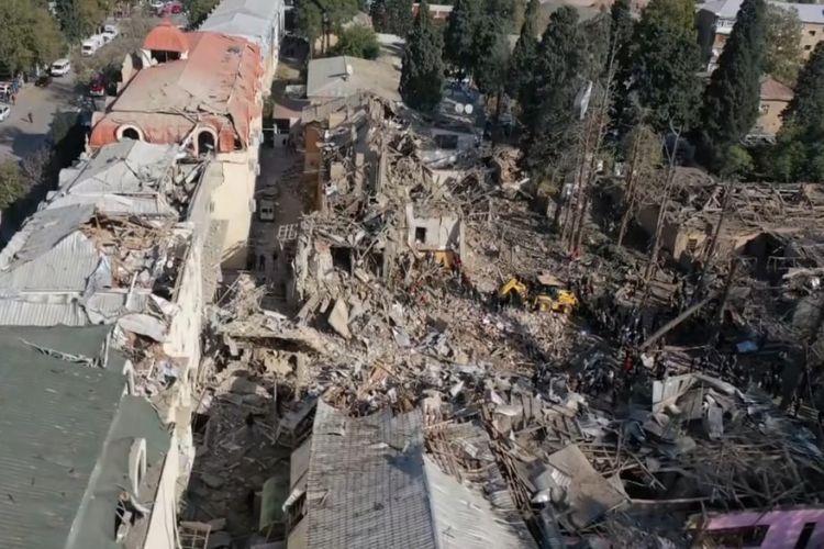 В результате провокаций Армении с 27 сентября погиб 91 мирный житель Азербайджана, 400 получили ранения
