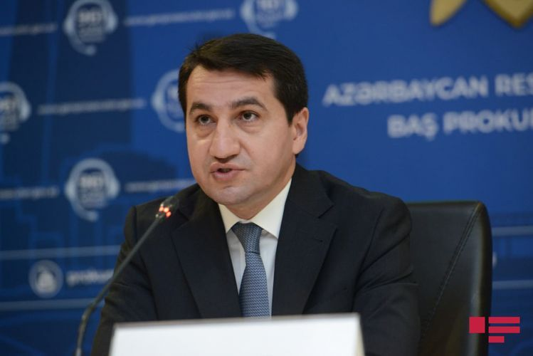 Хикмет Гаджиев: Армения совершила многочисленные военные преступления и преступления против человечности