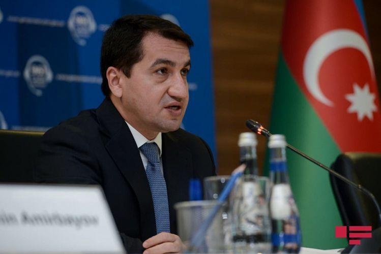 Хикмет Гаджиев: В ЕСПЧ и другие инстанции будут направлены обращения в связи с незаконным заселением оккупированных территорий