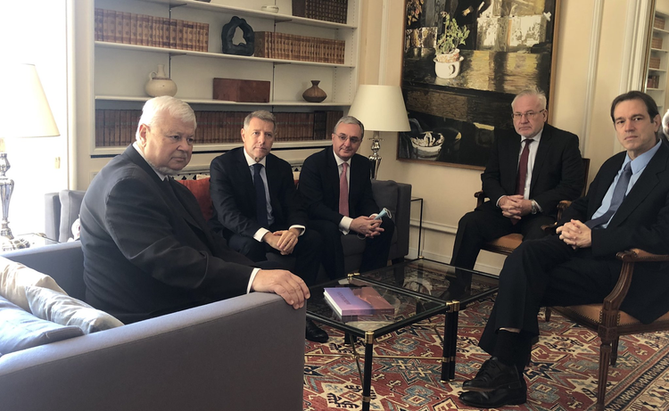 Next meeting on resolution of Nagorno Karabakh conflict starts in Geneva