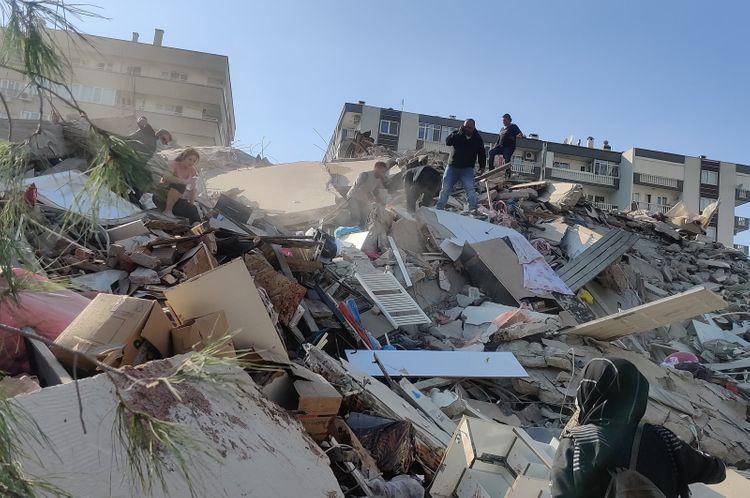 Magnitude 6.6 quake shakes Turkey's west coast, Greek islands in Aegean