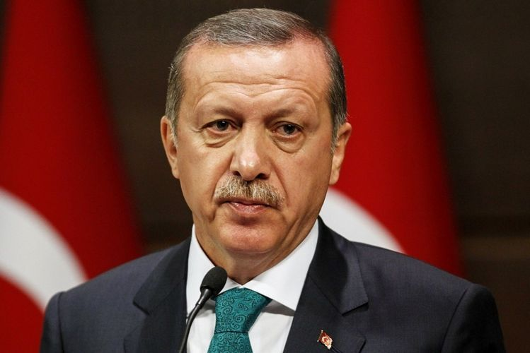 """Erdogan: """"Concerned institutions were sent to territory in order to support people aggrieved from earthquake"""""""