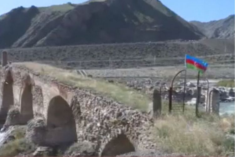 Azerbaijani state flag hoisted at four more outposts liberated from Armenian occupation