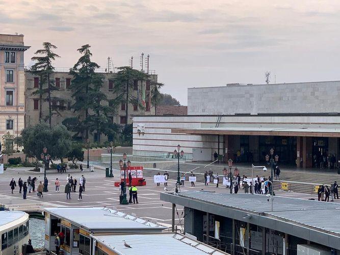 Venesiyada erməni terroruna qarşı aksiya keçirilib