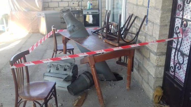 Armenian Armed forces inflict rocket attack on Alasgarli village of Azerbaijan