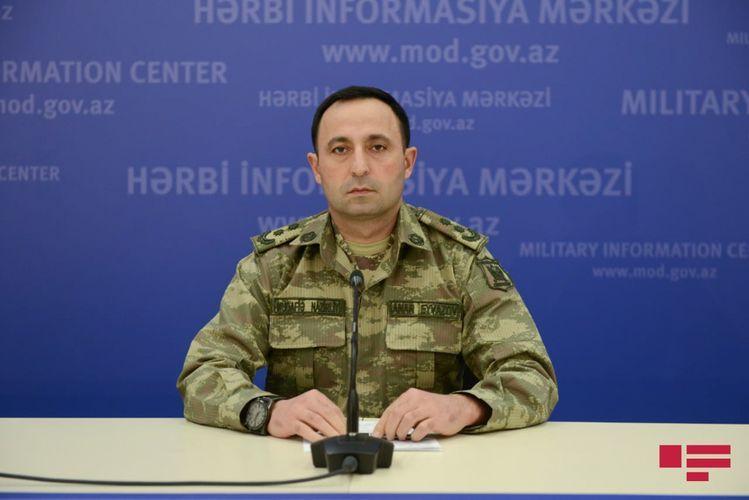 Минобороны: Азербайджанская армия контролирует ситуацию на фронте