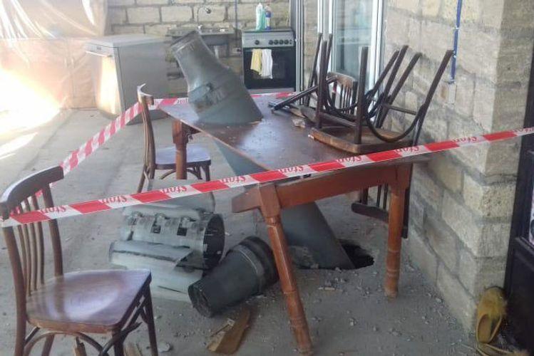 ВС Армении подвергли ракетному обстрелу село Алескерли Тертерского района