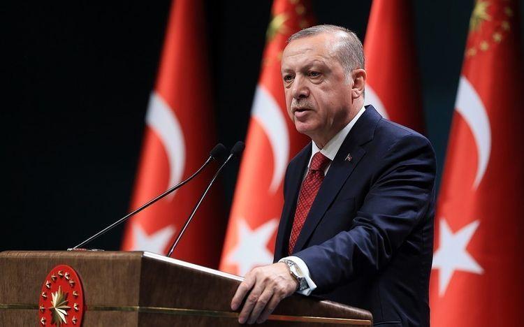 Эрдоган выразил признательность странам, выразившим готовность оказать поддержку Турции в связи с землетрясением