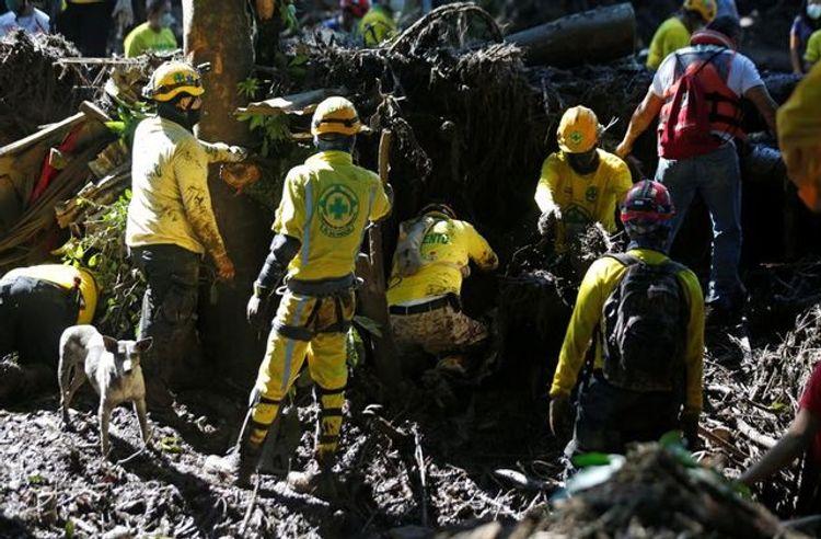 At least seven killed in landslide in El Salvador, over 30 missing