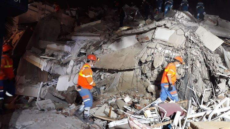 Number of injured people in an earthquake in Turkey's Izmir province reaches 831 - UPDATED