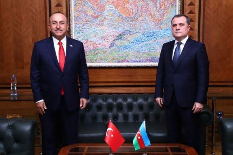 Azerbaijani FM makes a phone call to Turkish counterpart