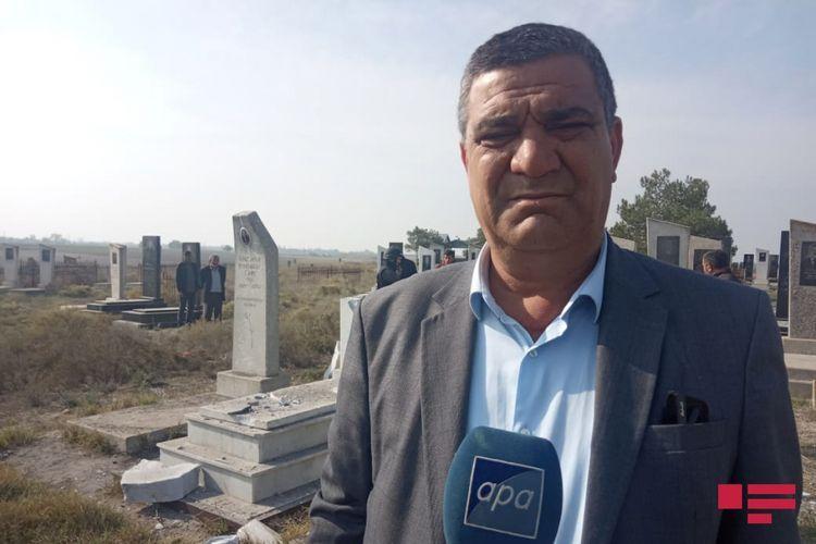 Армяне подвергли обстрелу населенные пункты и кладбище в Агдамском и Агджабединском районах