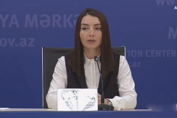 """Leyla Abdullayeva: """"Ordumuz əks-həmlə əməliyyatını humanitar hüququn norma və prinsiplərinə uyğun həyata keçirir"""""""