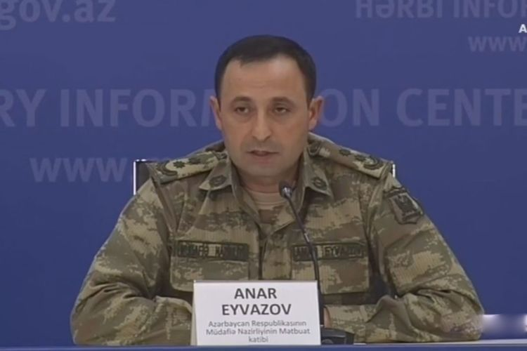 """Anar Eyvazov: """"We have one way to complete operations: all territories must be liberated from occupation!"""""""