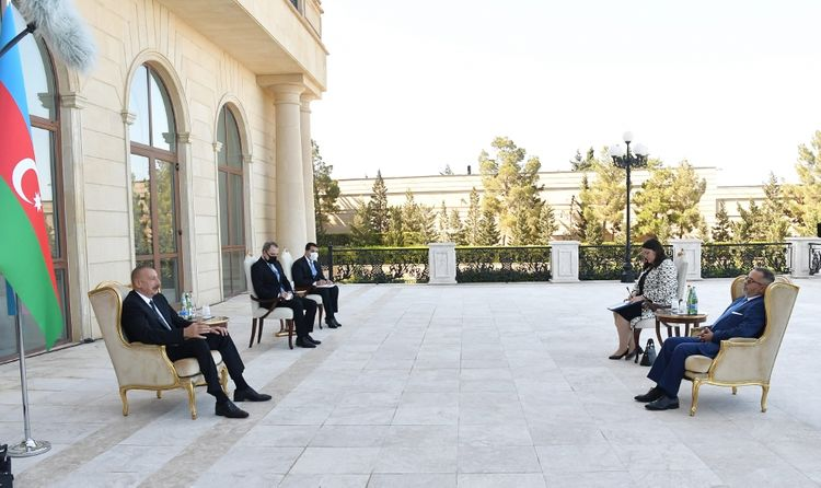 President Ilham Aliyev: We are concerned about the format of trilateral military cooperation involving Armenia, Greece and Cyprus