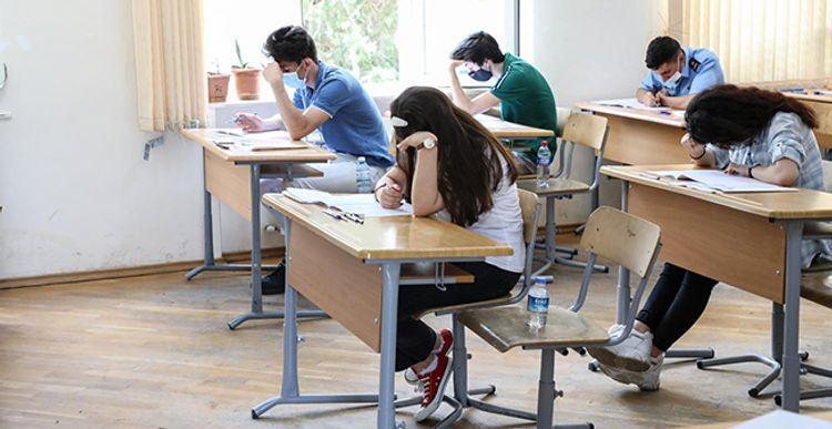 В Азербайджане объявлены результаты вступительных экзаменов по I и IV группам специальностей, прошедших 20-21 августа