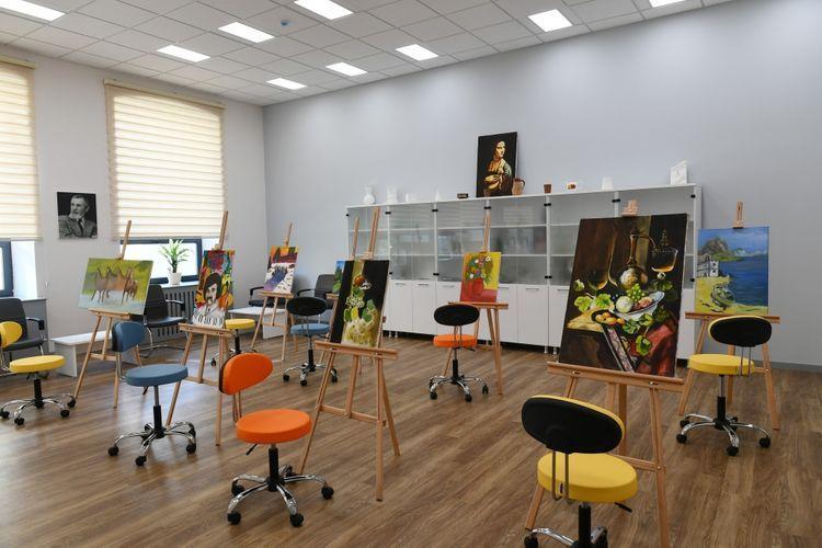 Президент Ильхам Алиев и первая леди Мехрибан Алиева приняли участие в открытии Детской школы искусств в Баку - <span class='red_color'>ОБНОВЛЕНО</span>