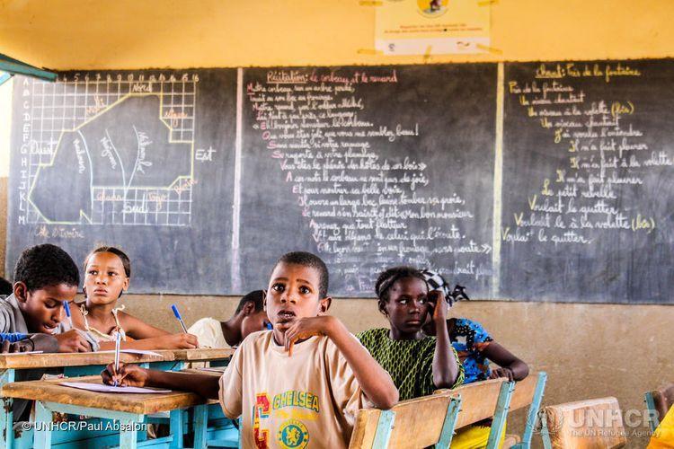 UN Refugee Agency: Half of the world's refugee children were already out of school
