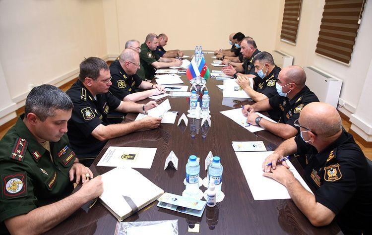 В Баку состоялась встреча замминистров обороны Азербайджана и России