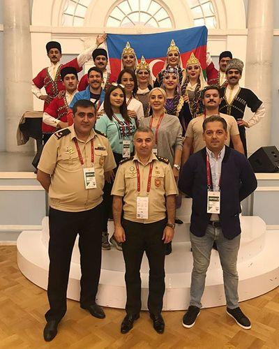 """Azərbaycan hərbçiləri Moskvada """"Sərhədsiz dostluq"""" festivalında birinci yerə layiq görülüb - <span class='red_color'>FOTO</span>"""