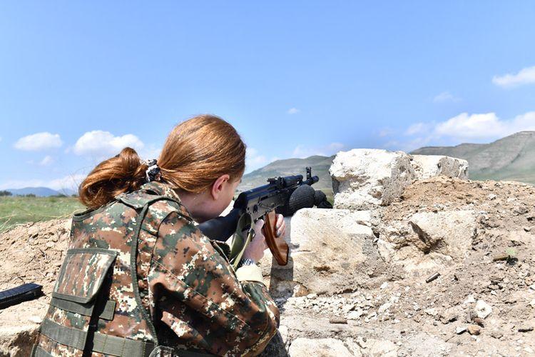 Vestnik Kavkaza: Why did Nikol Pashinyan send his wife to shoot at Azerbaijan's positions?