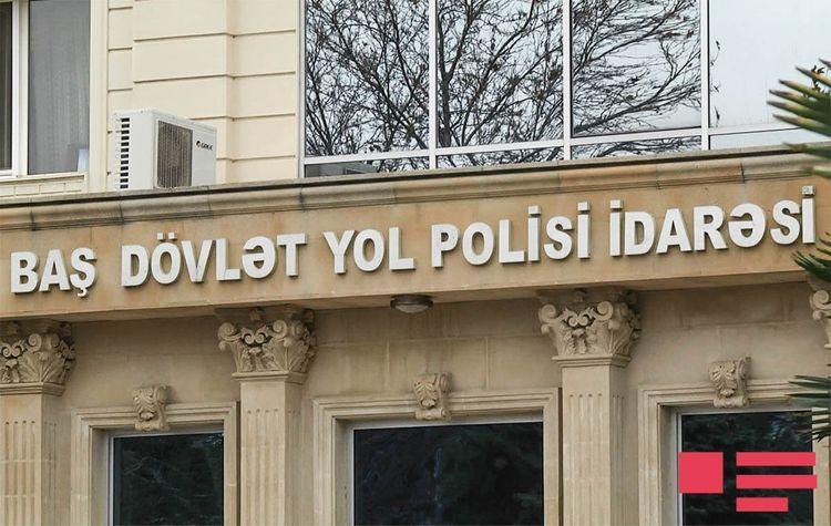 Дорожная полиция обратилась к участникам движения в связи с въездом-выездом в Баку, Сумгайыт и Абшеронский район