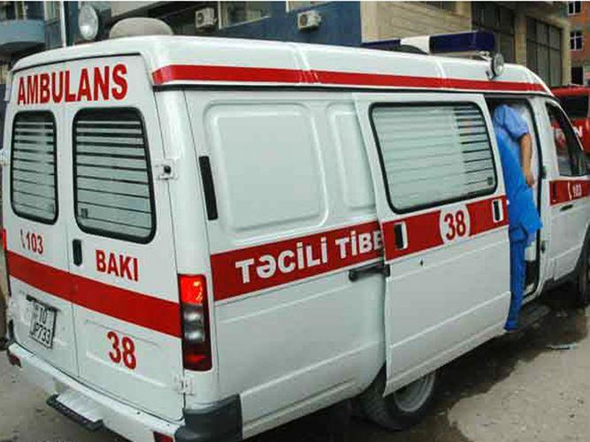 Hacıqabulda avtomobil piyadanı vurub