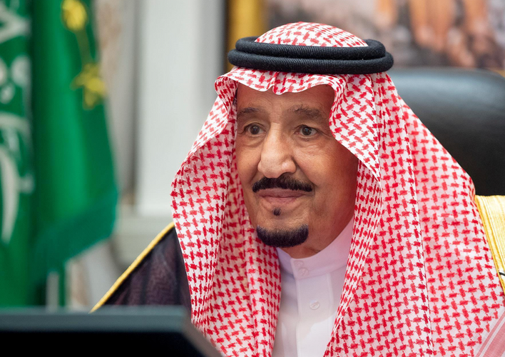 Saudi King, France