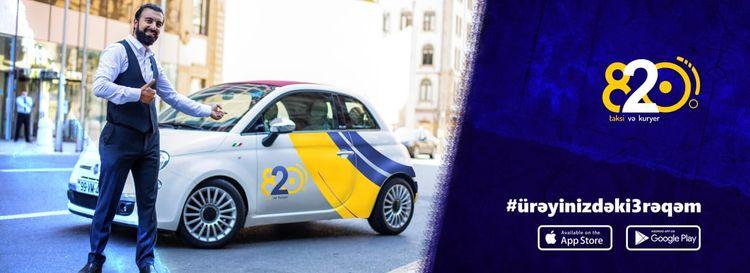 В Баку начала деятельность служба 820 такси-курьер