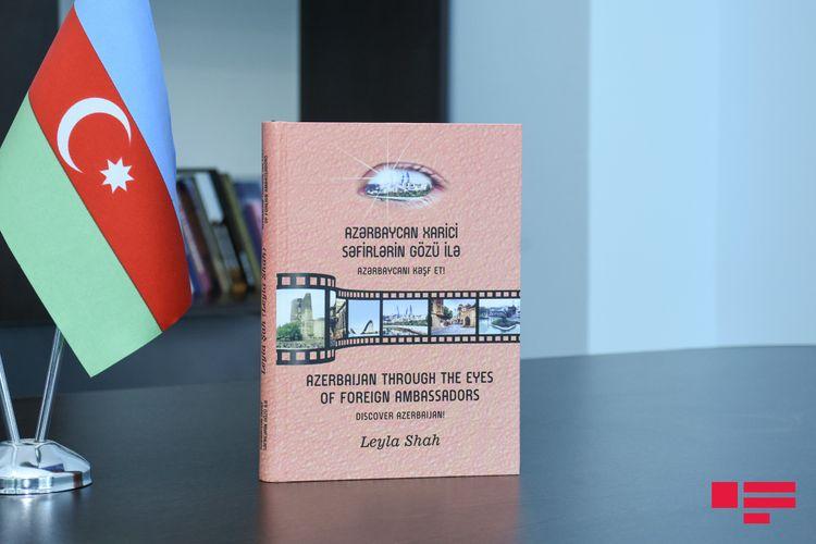 """""""Azərbaycan xarici səfirlərin gözü ilə"""" kitabı çap olunub"""