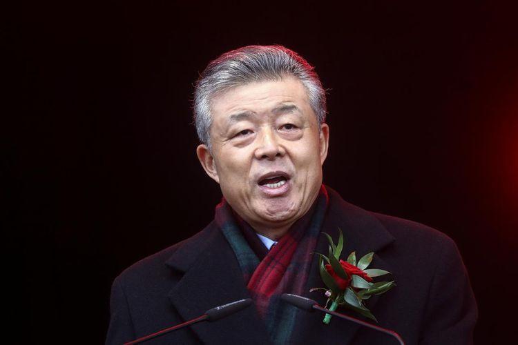 Chinese embassy in UK says ambassador