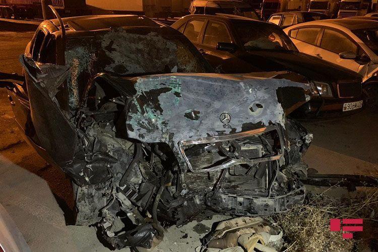 DİN Abşeronda 1 nəfərin ölümü, 8 nəfərin xəsarət aldığı qəza ilə bağlı məlumat yayıb